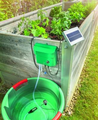 solární zavlažování